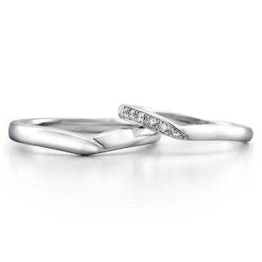V字の結婚指輪 お気に入りのリングが見つかる3つの選び方・人気のデザイン
