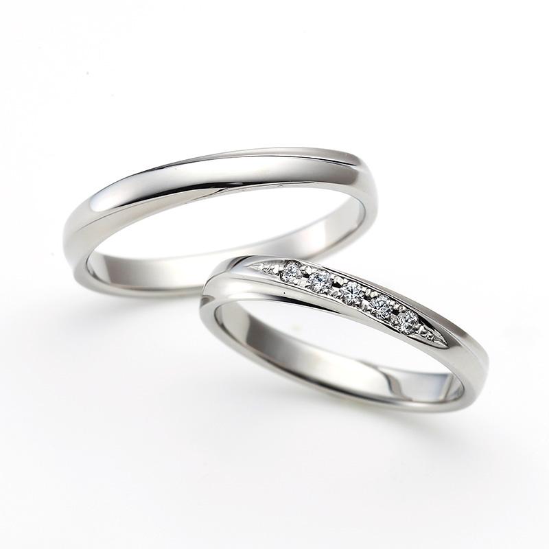 ラザールダイヤモンドの結婚指輪「LG023PR」と「LG024PR」