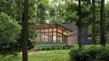 Frank Lloyd Wright-inspired Homes Based Usonian