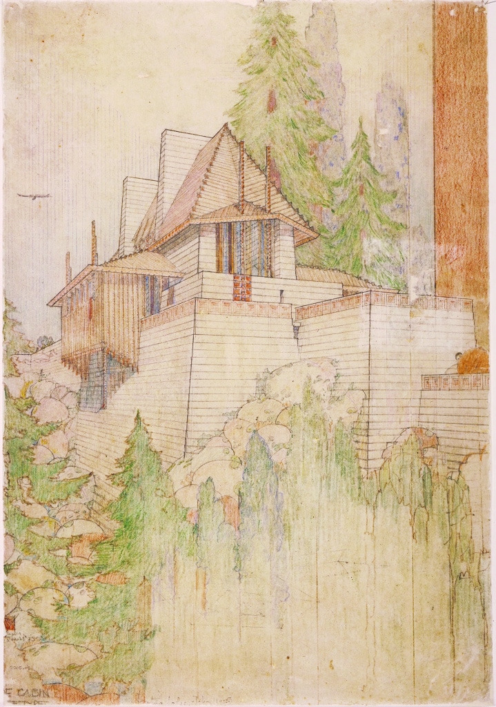 An Architecture Of Mobility The Lake Tahoe Project Frank Lloyd Wright Foundation