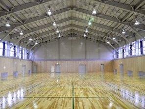 町立富来中学校第一体育館耐震改修