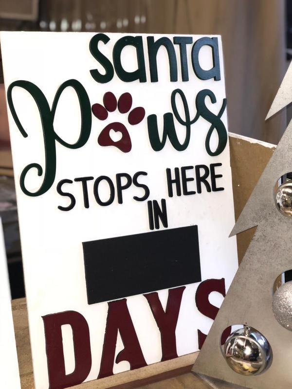 Santa Paws stops here in