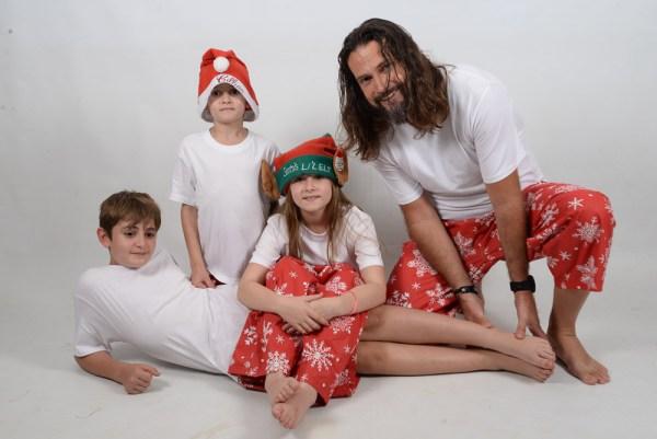 Xmas White Family 7