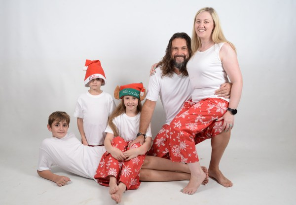 Xmas White Family 4