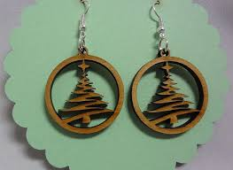 Tree Cutout Earrings