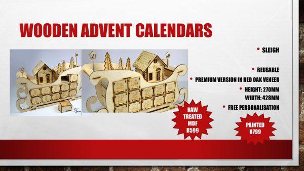 advent sleigh