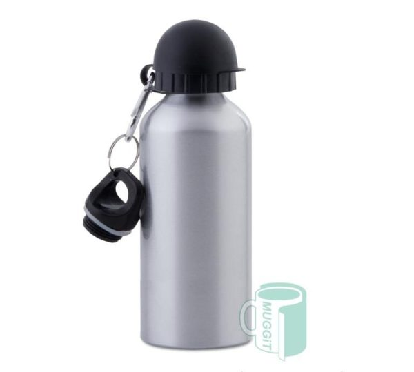 sports bottle 600ml Silver