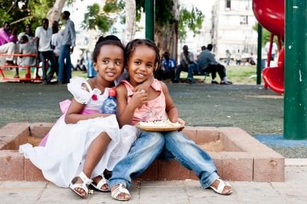 Kids of Refugees in South Tel-Aviv.