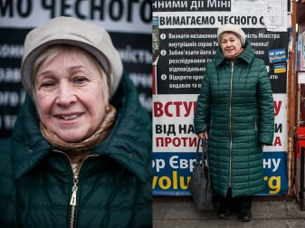 5) Lydia, 68, teacher, Kyiv, 2 children, 3 grandchildren