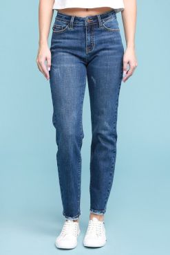High Waisted Slim Fit Jeans