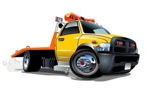 Tow Truck for Website Design