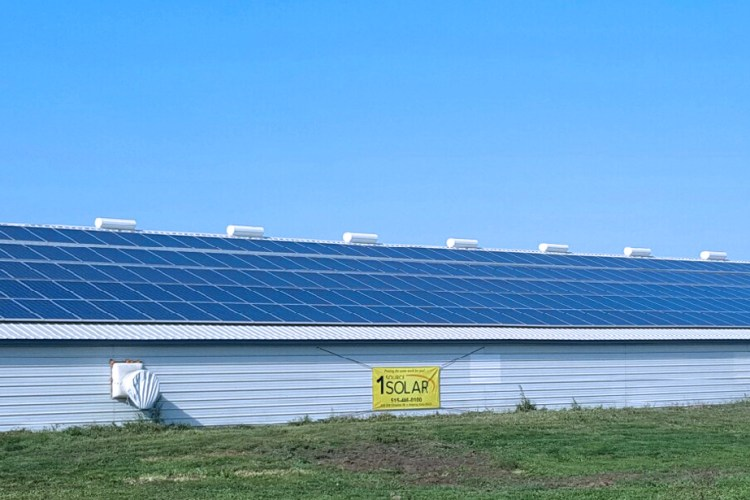 400 FT Solar Power Install Complete!