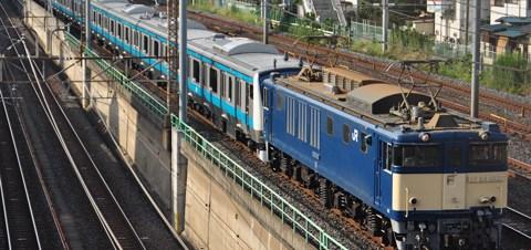【JR東】E233系ウラ164編成配給輸送