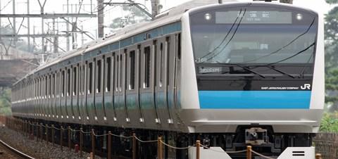【JR東】E233系ウラ169編成試運転