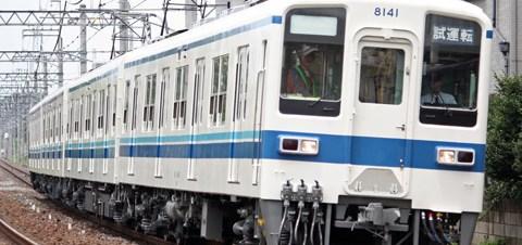 【東武】8141F川越工場出場試運転