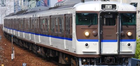 【JR西】113系元C11編成広島へ転属