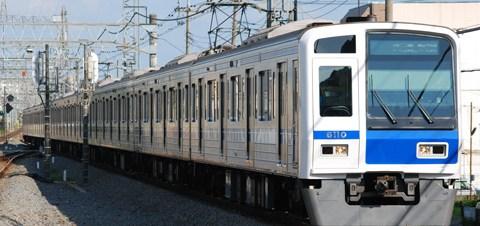 【西武】6110F副都心線直通試運転