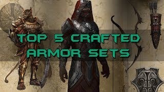 top 5 crafted armor