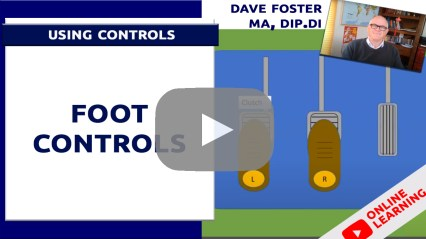 driving lessons foot controls
