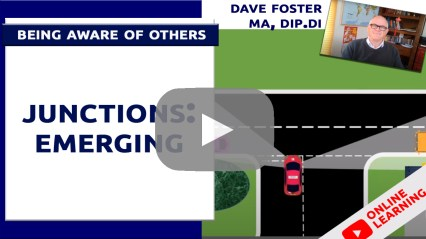 driving lessons junctions emerging