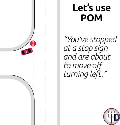 POM routine example 1