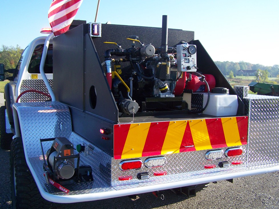 pump on Bendera truck