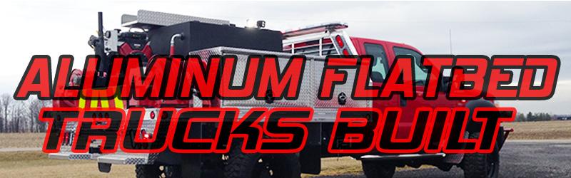 Aluminum Flatbed Emergency Truck