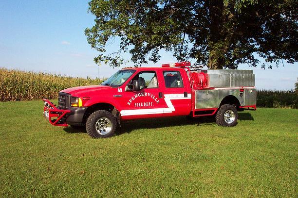 driver side- Spencerville truck