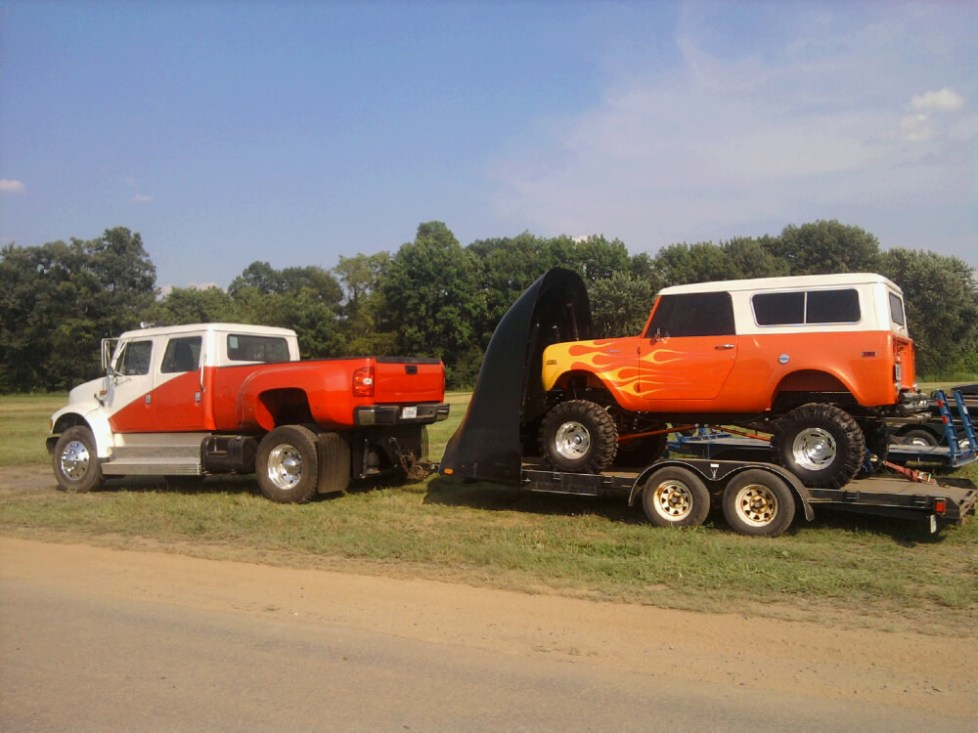 pulling trailer- Ke-mo-sah-bee