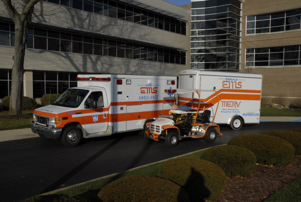 DeKalb Ambulance, Trailer, and MERV
