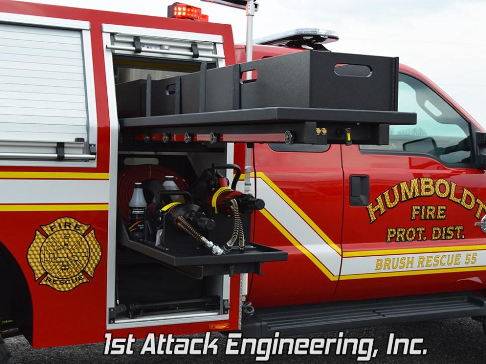 Transverse Cabinet- Humbolt Fire Department