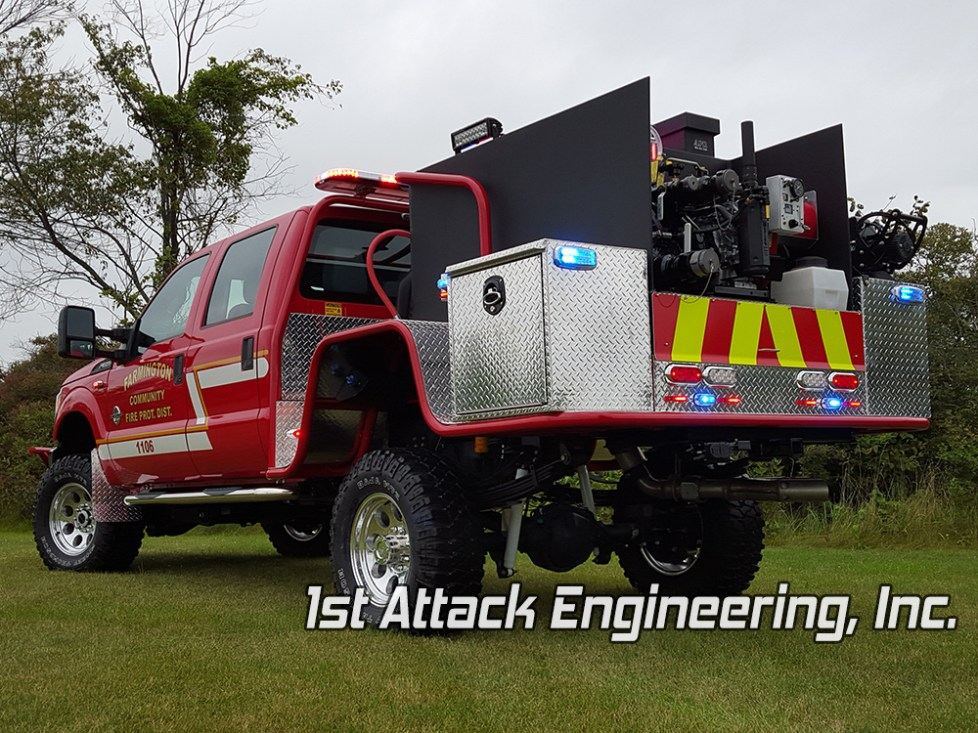 Farmington Community Fire Protection District- rear driver angle