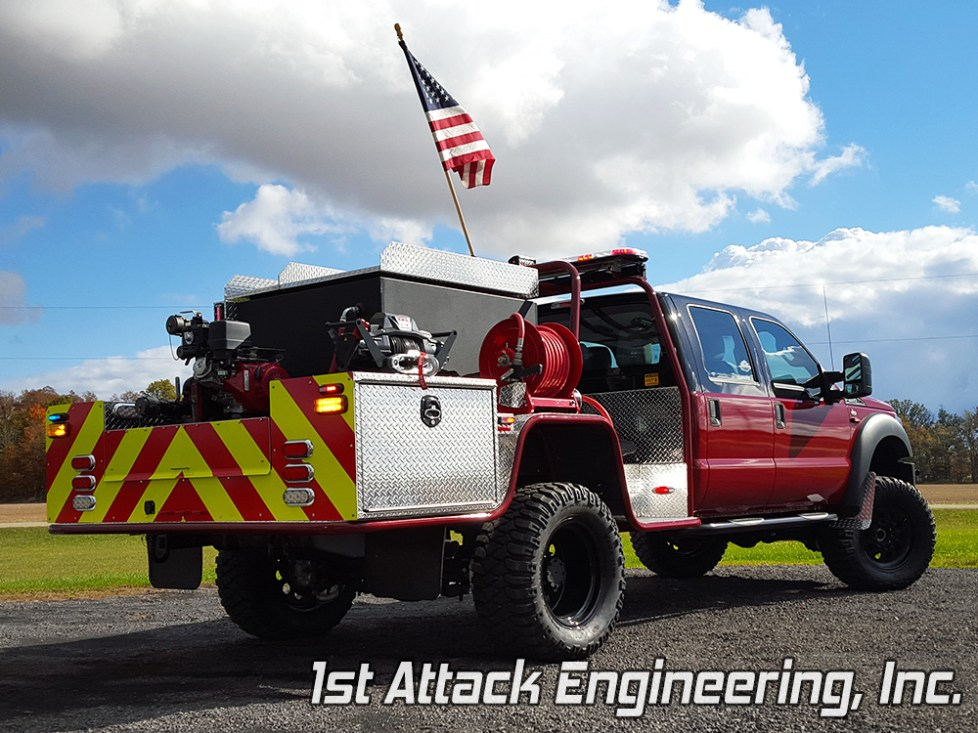 Pennsville Fire Department- rear passenger corner 1st Attack Engineering