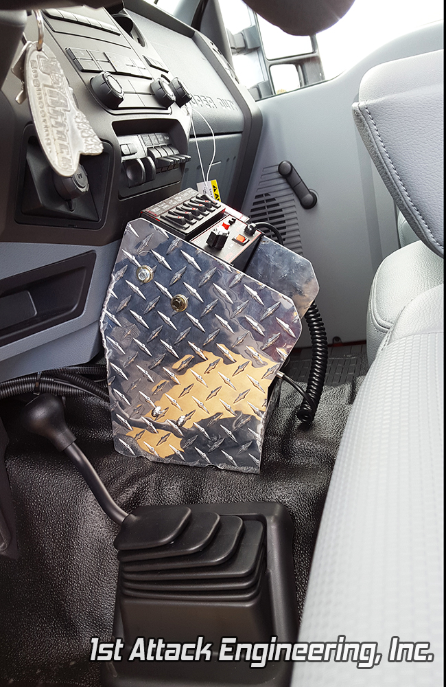 Small Center Console- Pennsville Fire Department