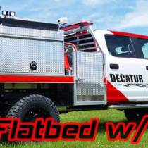 Main image for decatur fire department's brush truck