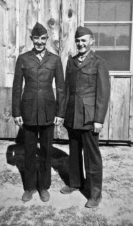George Smith and JJ Franey at Parris Island.