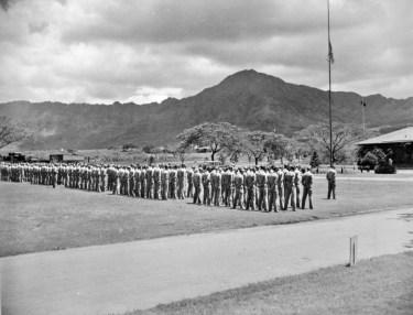 Memorial service for President Roosevelt.
