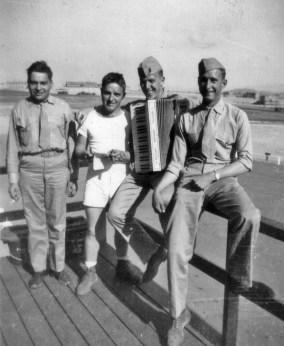 Henry Doxtator, Lester Kincaid, Hal Fritz, Ronald Palmer.