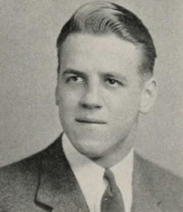 Ken Beehner in the 1942 Syracuse University yearbook.