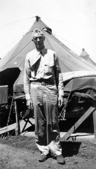 """Another popular """"Doc"""" was Pharmacist's Mate Francis Munski. The former Montana ranch hand was considerably older than most of his peers, but served with distinction in three battles."""