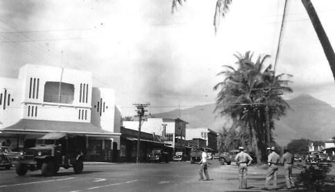 On liberty in Wailuku, Maui.