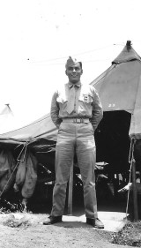 Another decorated corpsman, probably Ben Flores.