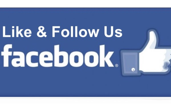 Like Follow on Facebook