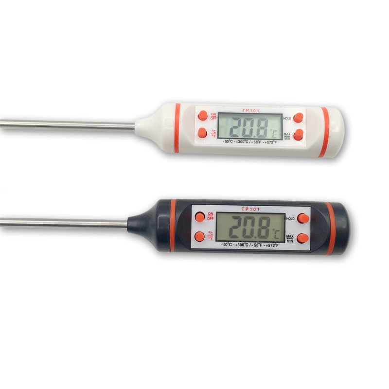 Junejour Meat Thermometer Digital BBQ Thermometer Electronic Cooking Food Thermometer Water Milk Kitchen Oven Thermometer