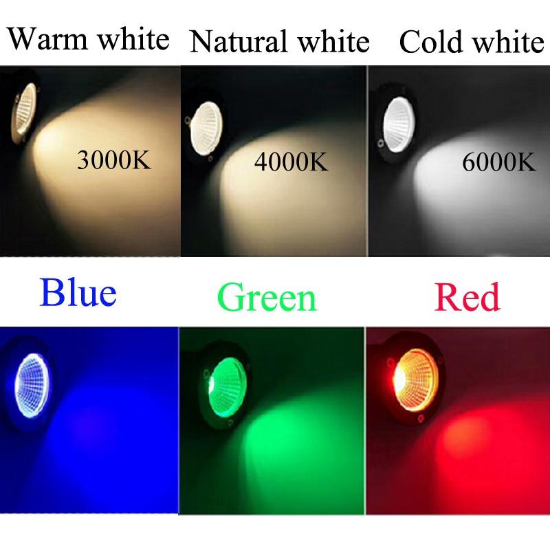 LED COB Garden lighting 3W 5W 10W Outdoor Spike Lawn Lamp Waterproof Lighting Led Light Garden Path Spotlights AC110V 220V DC12V