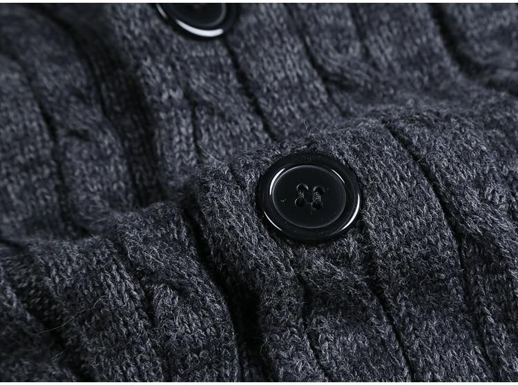 Long Sleeve Cardigan Men's Sweater Jacket