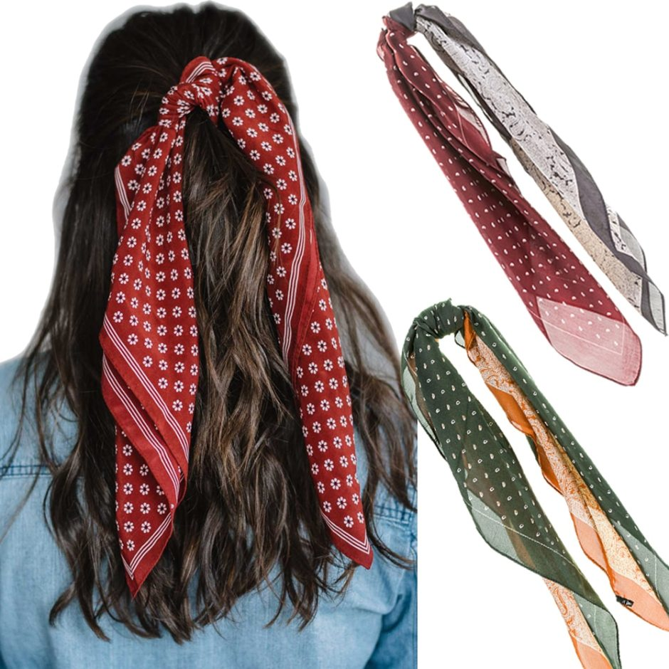 Hair Scarf Bandanas for Women - Girls