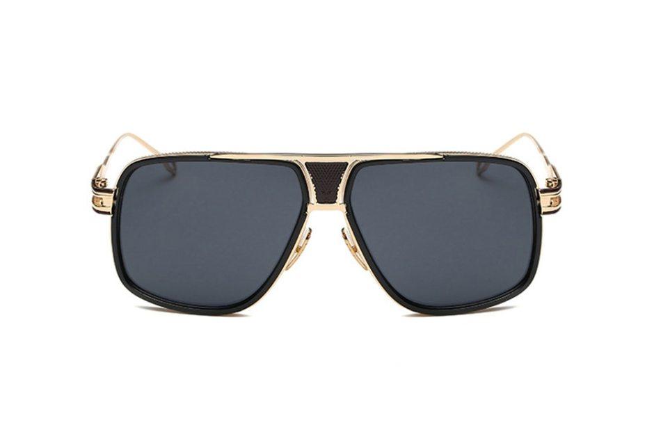 Men's Fashion Style Gradient Color Sunglasses