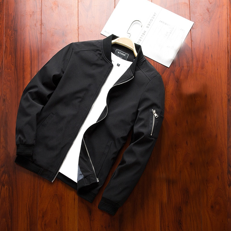 Fashion Spring Casual Men's Pilot Jacket