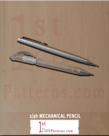 2h or 4h 0.5mm lead pencil